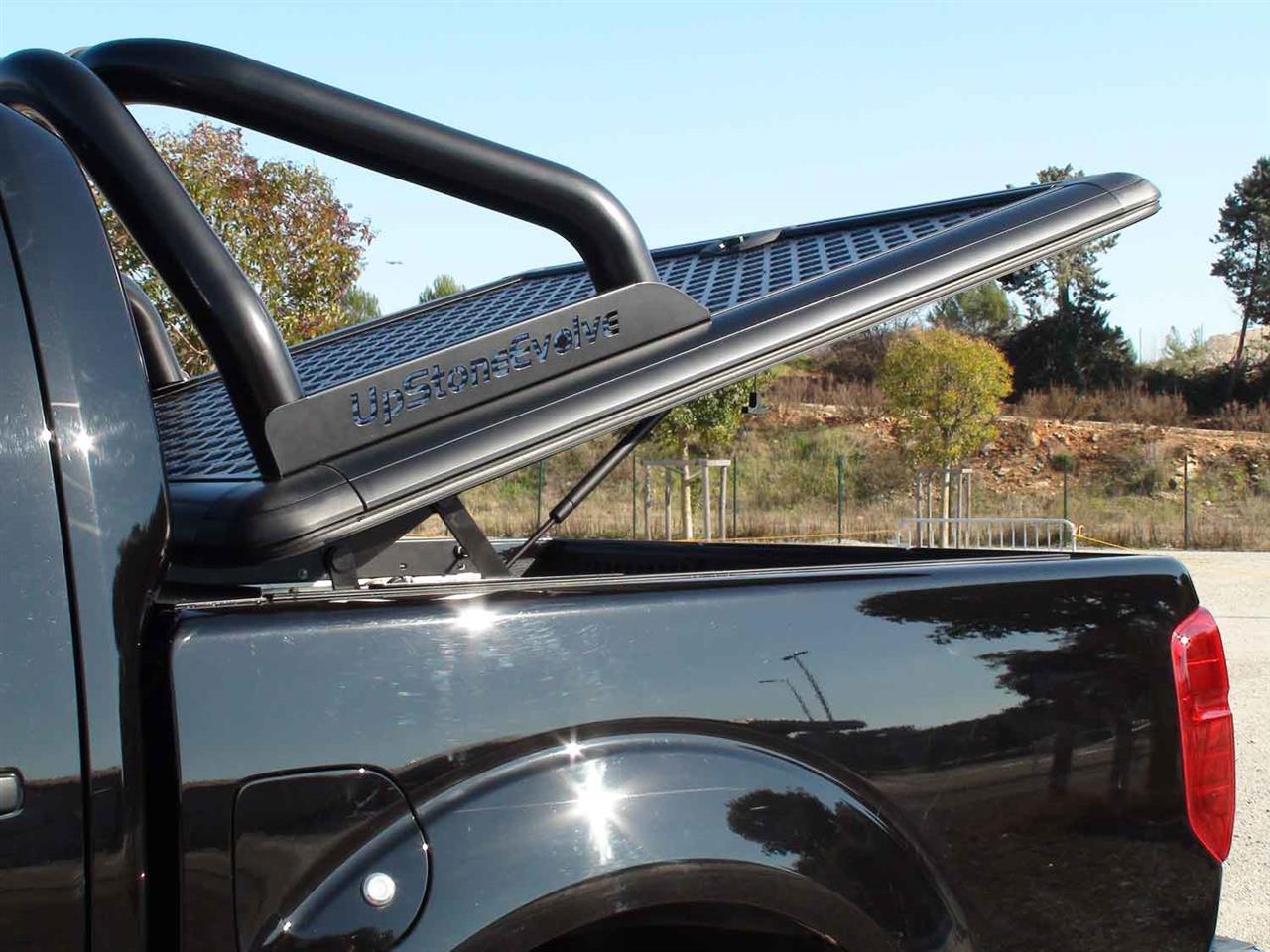 Evo289b Upstone Aluminium Tonneau Cover Nissan Navara