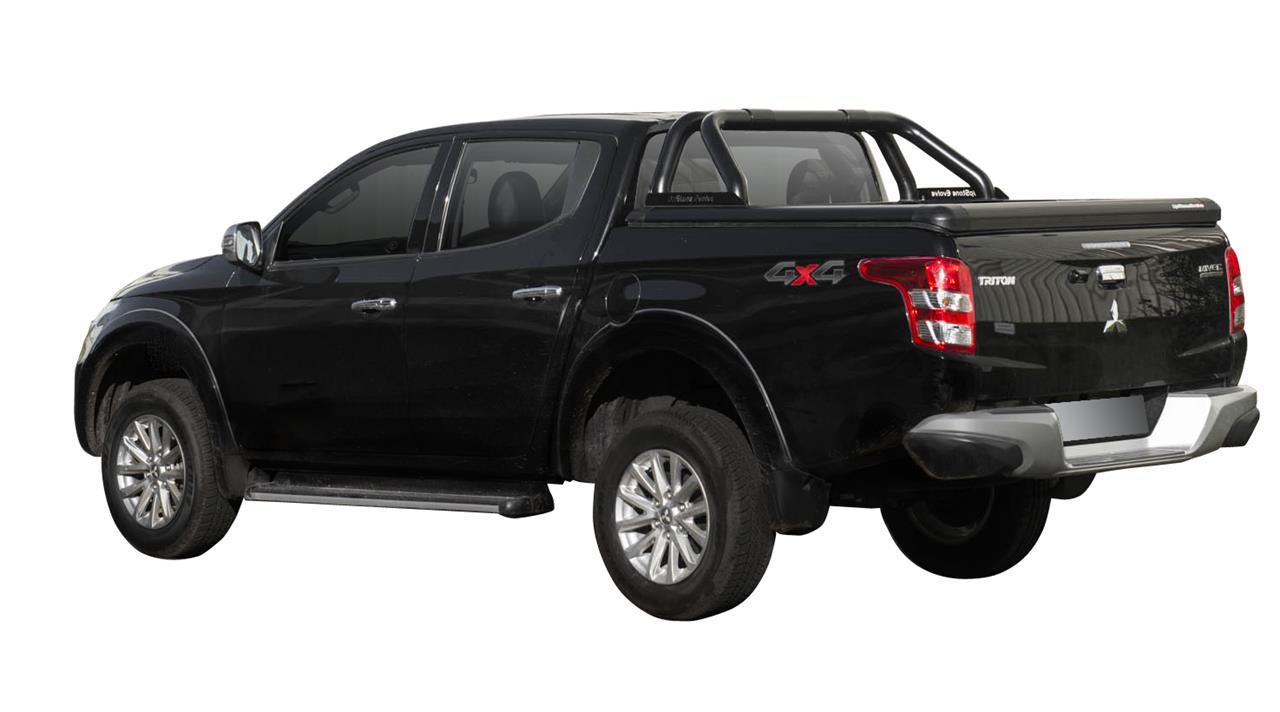 Evo600b Upstone Black Aluminum Tonneau Cover