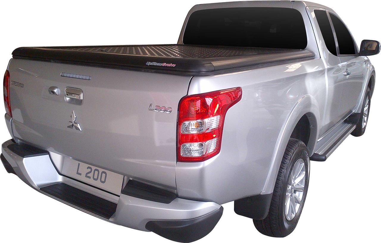 Evo650b Upstone Black Aluminum Tonneau Cover