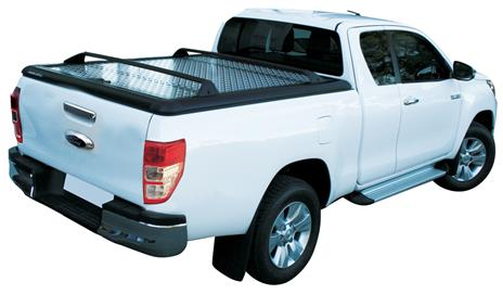 crossn04 cross bars pair for tonneau cover aluminium ford